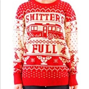 UGLY Christmas Sweater National Lampoons Poop